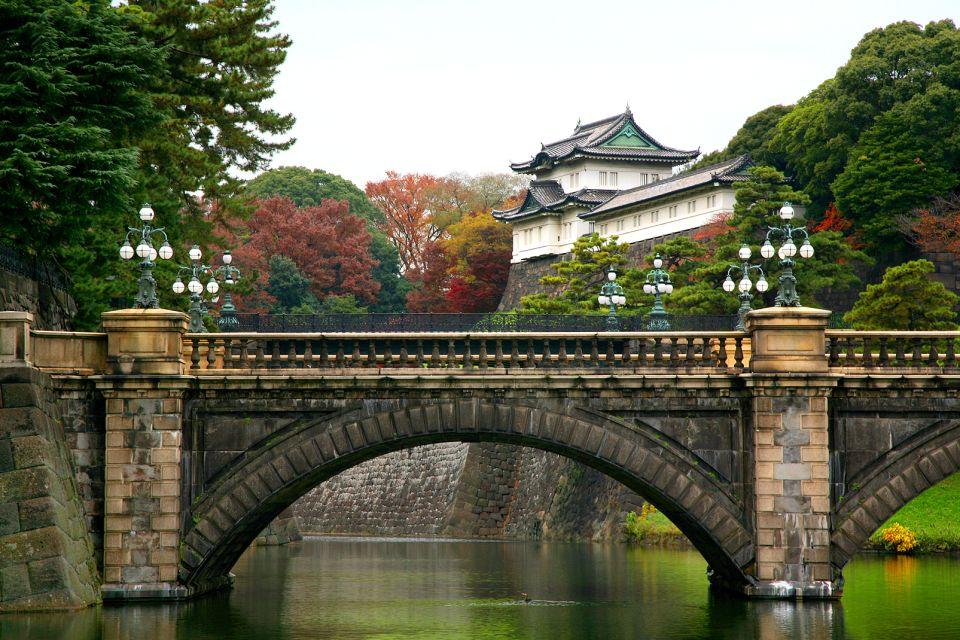 TOKYO- Le palais de l'Empereur , Il ponte Nijubashi , Giappone