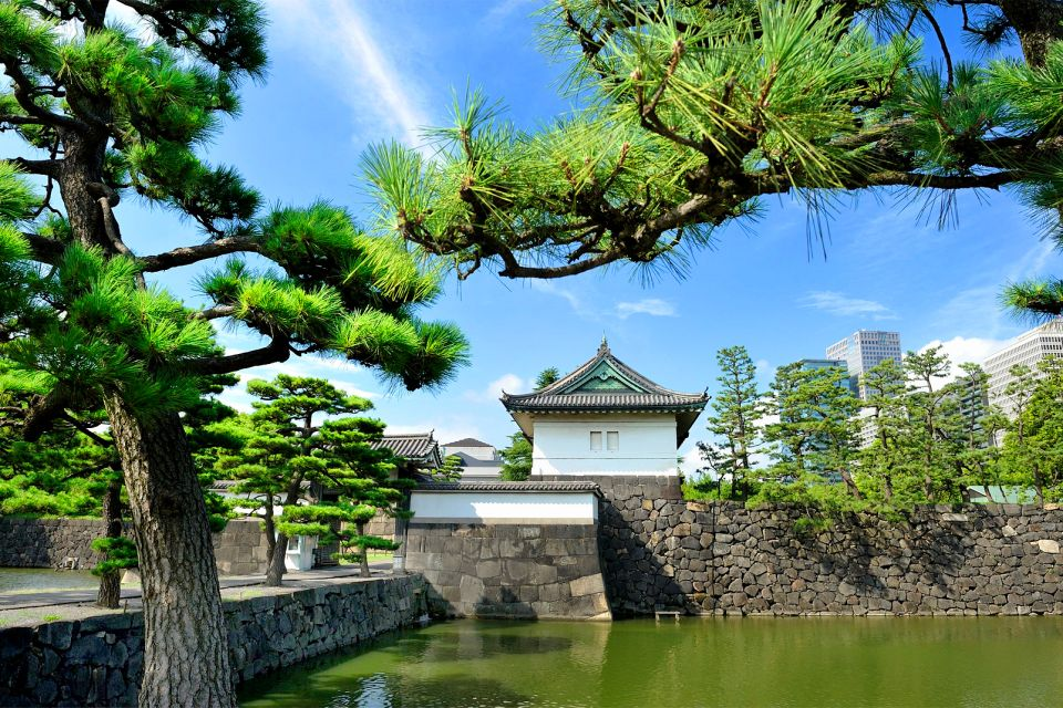 The Emperor's Palace, Tokyo , The Imperial Palace , Japan