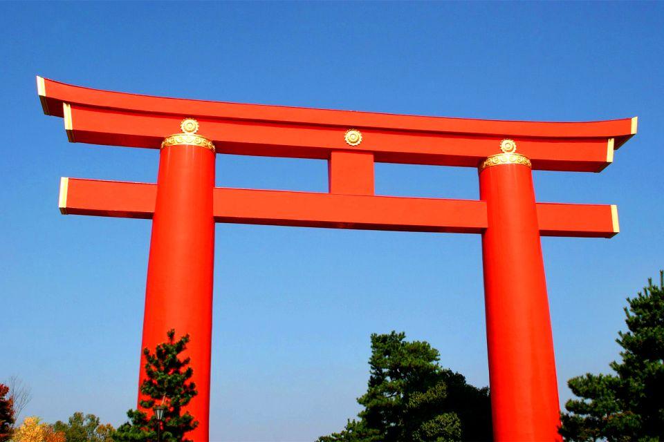 KYOTO- Rokuon Ji , El torii Otenmon , Japón