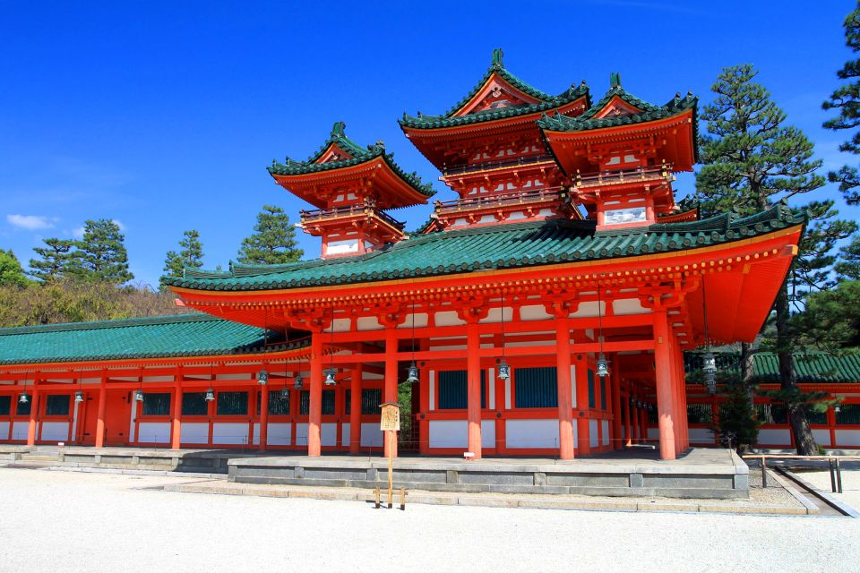 KYOTO- Sanctuaire Heian , Le sanctuaire Heian à Kyoto , Japon