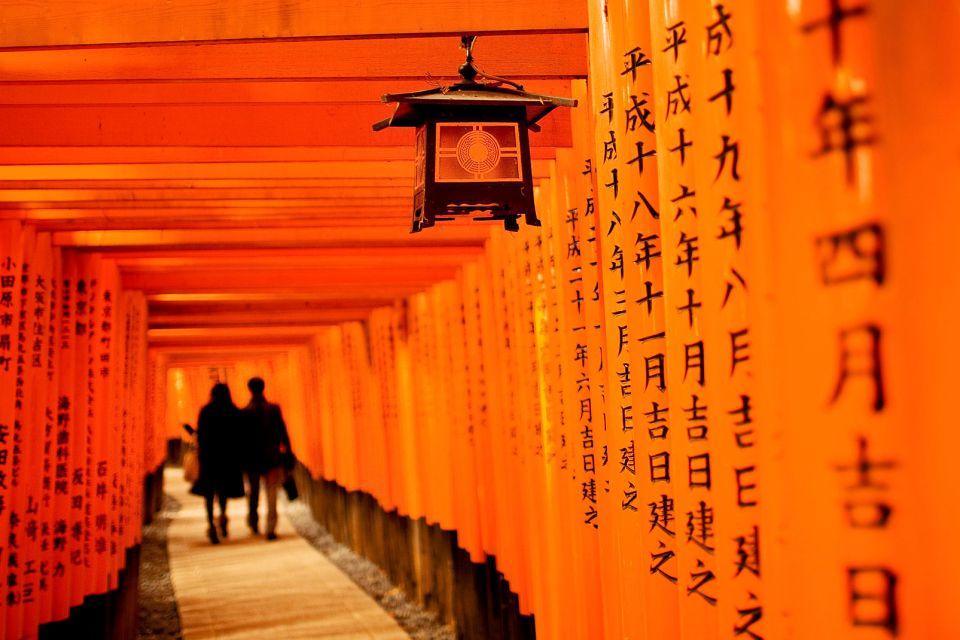 KYOTO- Fushimi Inari Taisha , El santuario de Fushimi Inari Taisha, Kioto , Japón