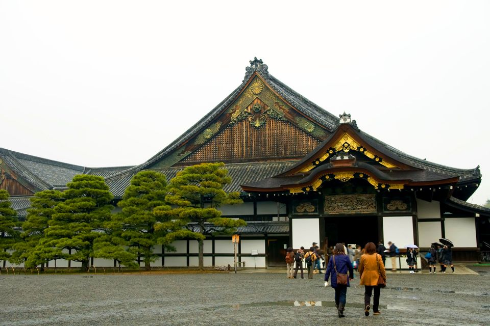 KYOTO- Le Château Nijo , Le palais Ninomaru , Japon