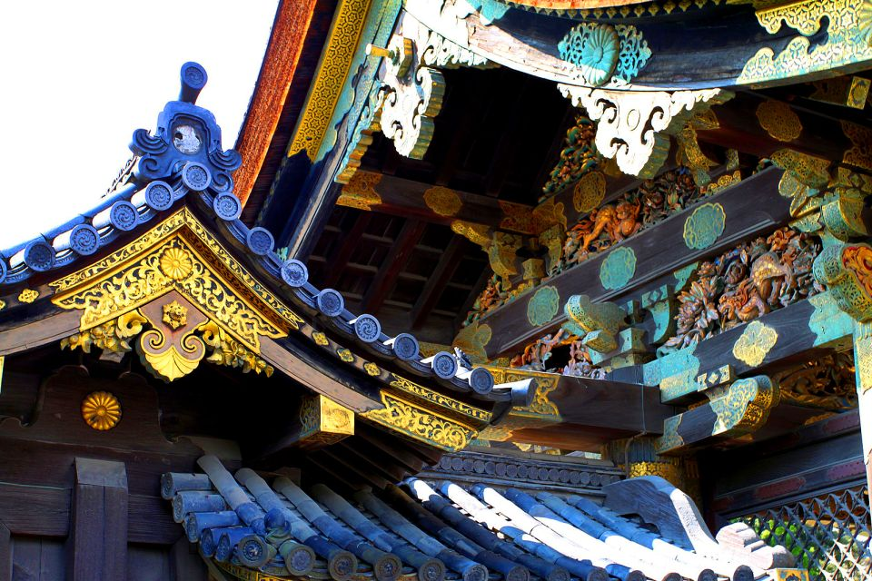Nijo Castle, Tokyo , Detailing on the entrance gate , Japan