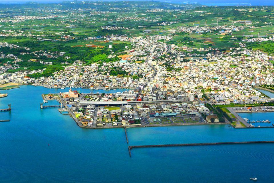 Les îles d'Okinawa , Panorama sull'isola di Okinawa , Giappone
