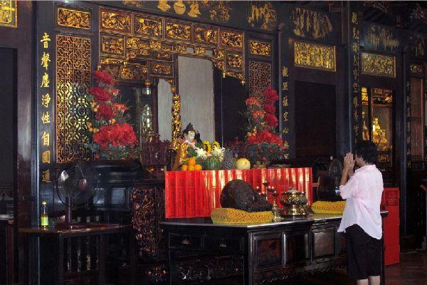 Le temple Cheng Hoon Teng , Malasia