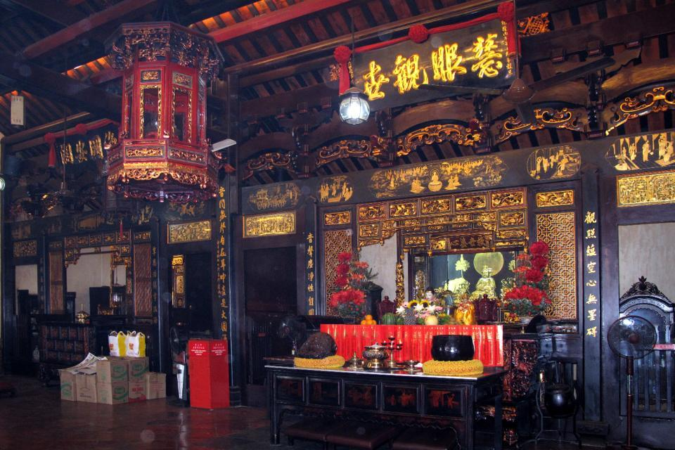 Le temple Cheng Hoon Teng , Malaisie