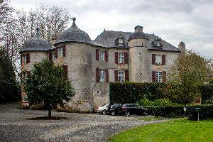 Le château d'Urtubie , France
