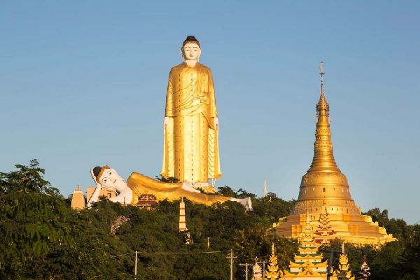 Le plus grand bouddha du monde , The largest Buddha in the world , Myanmar