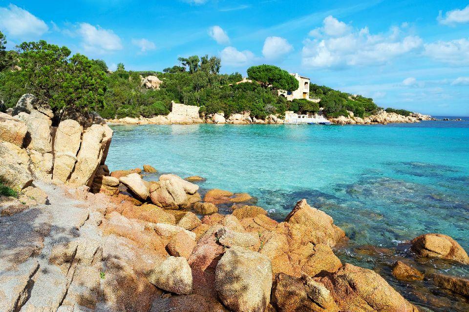 La Costa Smeralda , Italia