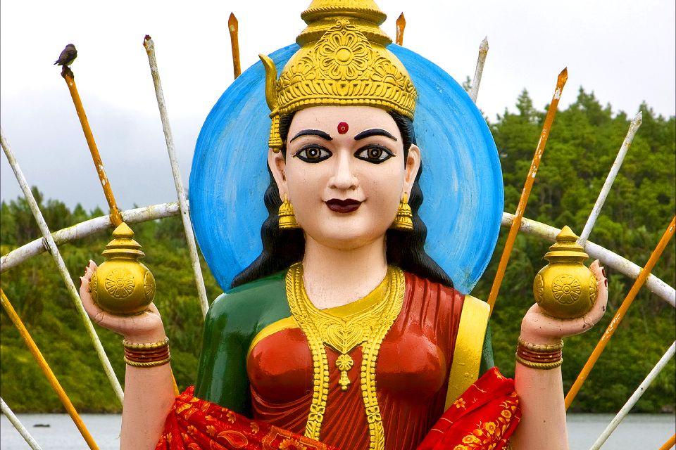 Grand Bassin , A Hindu statue , Mauritius