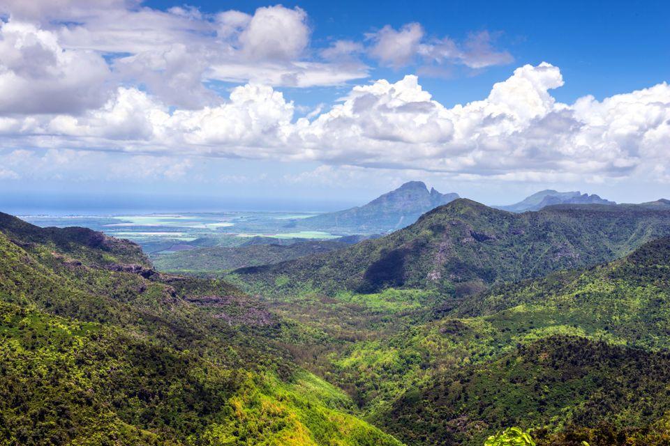 I sentieri del parco, Le Parc National des Gorges de la Rivière Noire, I parchi e le riserve, Isola Mauritius