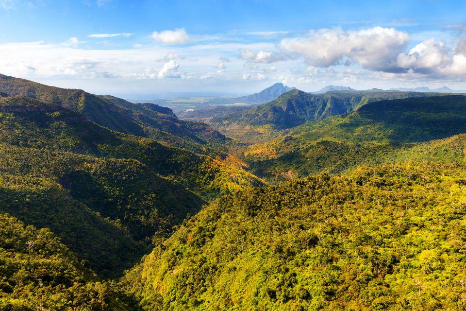Il Parco delle Gole della Riviera Nera, Le Parc National des Gorges de la Rivière Noire, I parchi e le riserve, Isola Mauritius