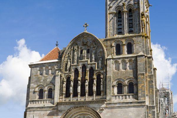 , La Basilique Madeleine de Vézelay, Monuments, Burgundy