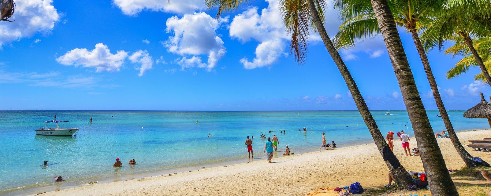 Trou aux Biches, La costa nord di Mauritius, Le rive, Isola Mauritius