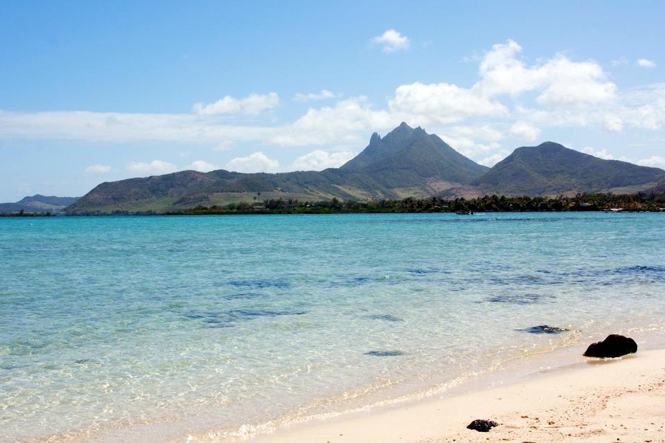 La côte ouest , Mauritius
