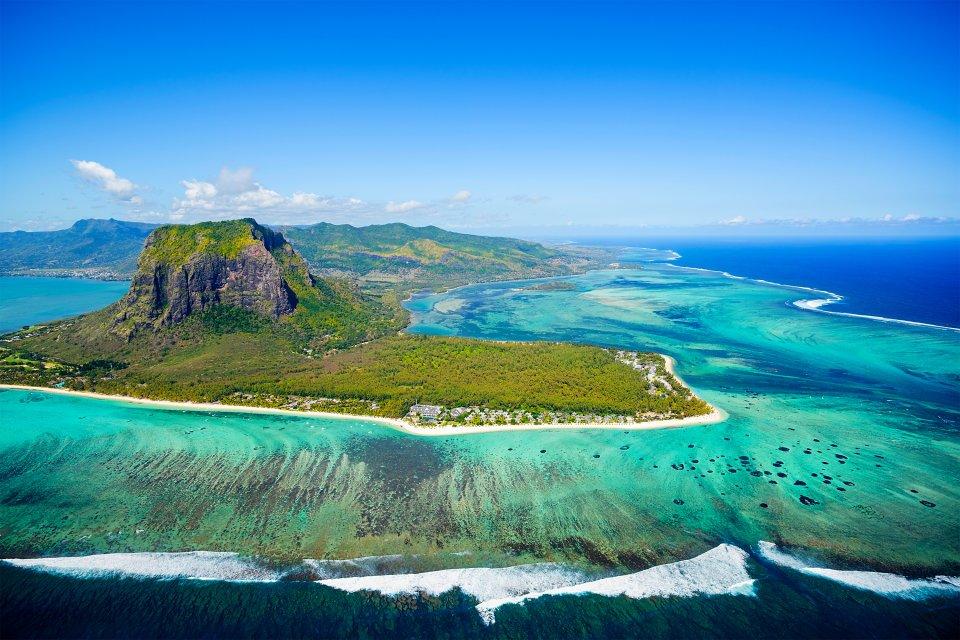 Les côtes, afrique, ile maurice, ocean indien, maurice, morne brabant