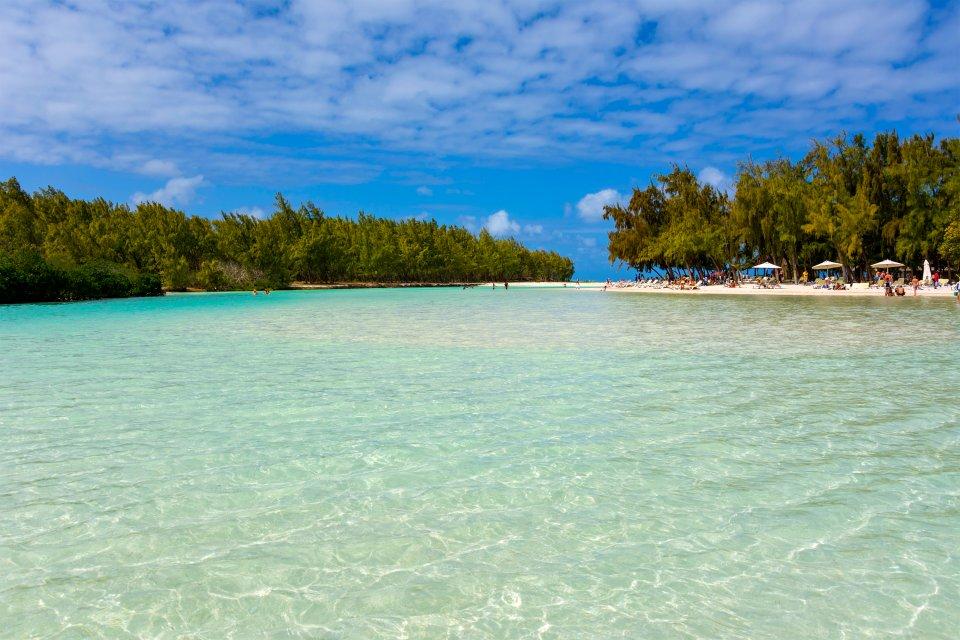 Le terre della costa orientale, La costa orientale di Mauritius, Le rive, Isola Mauritius