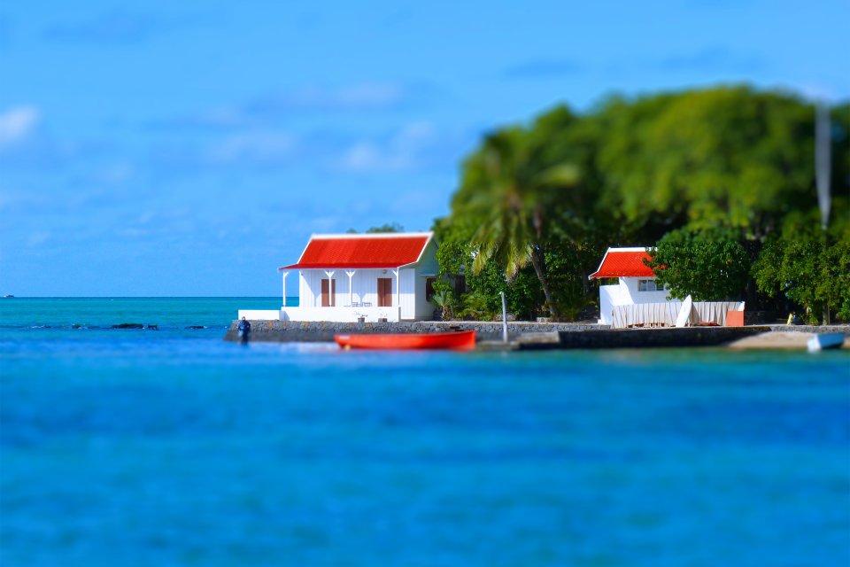 L'isola dei Cervi, La costa orientale di Mauritius, Le rive, Isola Mauritius
