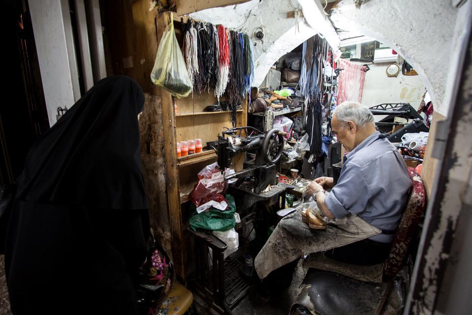 Il quartiere arabo della Città Vecchia , Territori palestinesi