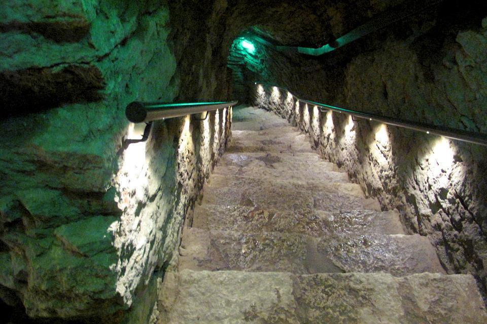 Les souterrains de Tallinn , Estland