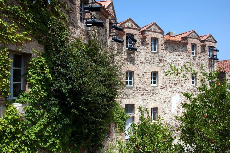 El castillo real de Colliure , Francia