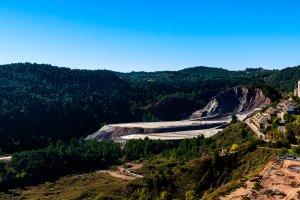 Les mines de sel de Cardona , Espagne