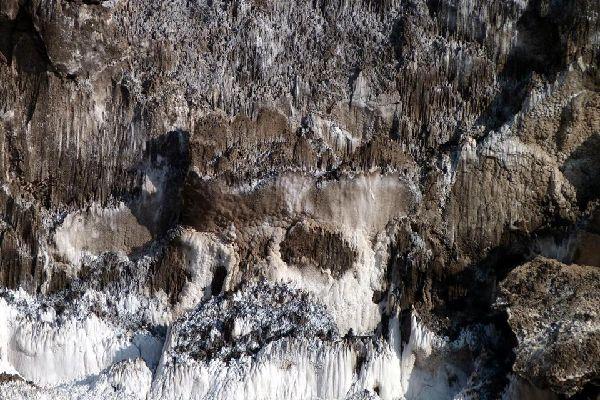 Les mines de sel de Cardon , Spain