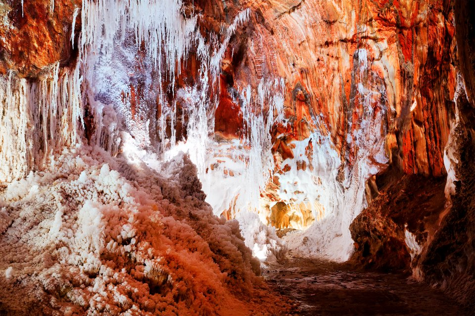 La cuarta dimensión, Las minas de sal de Cardon, Los paisajes, Cataluña