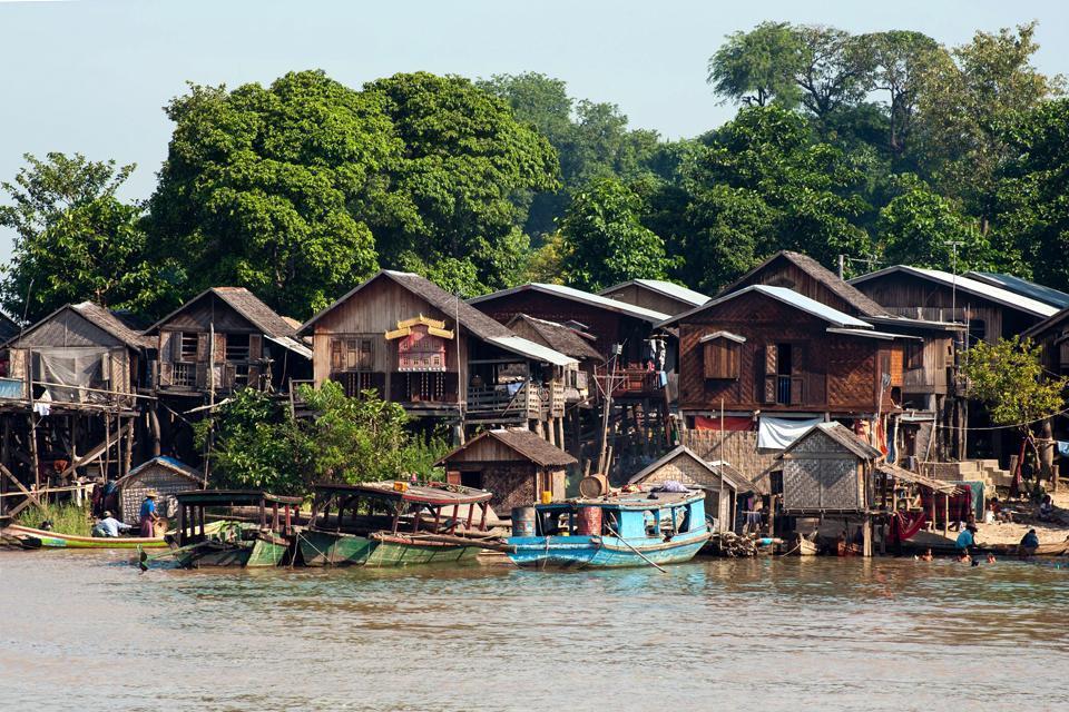 L'Irrawaddy , Birmanie , Myanmar