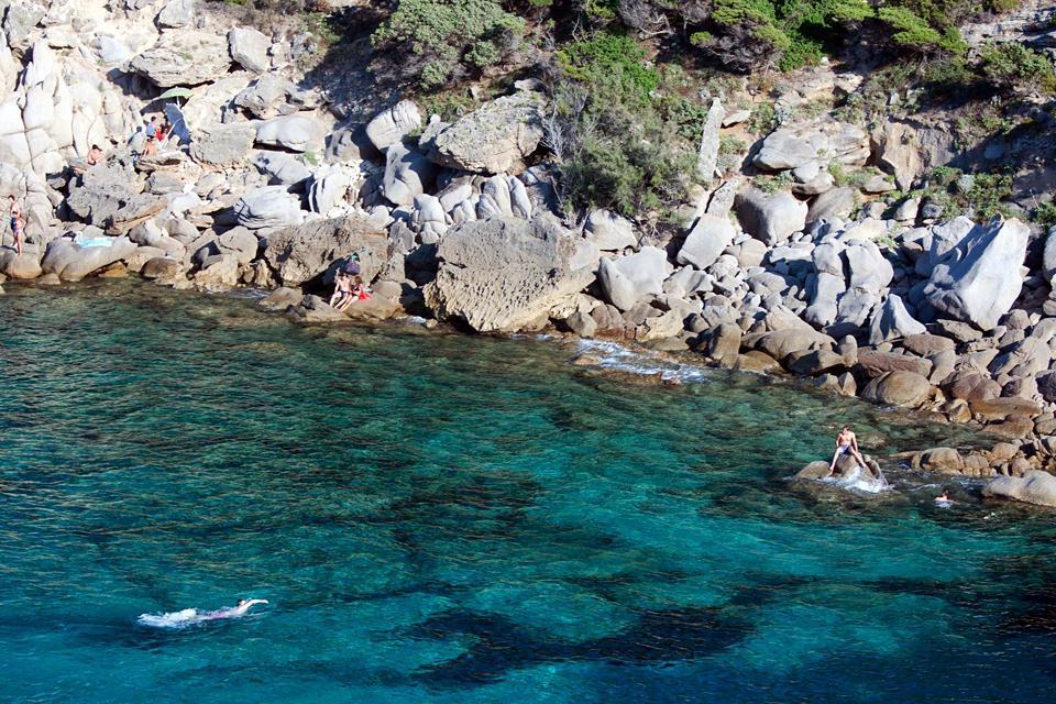 Le Capo Testa , La côte de granit rose sarde , Italie