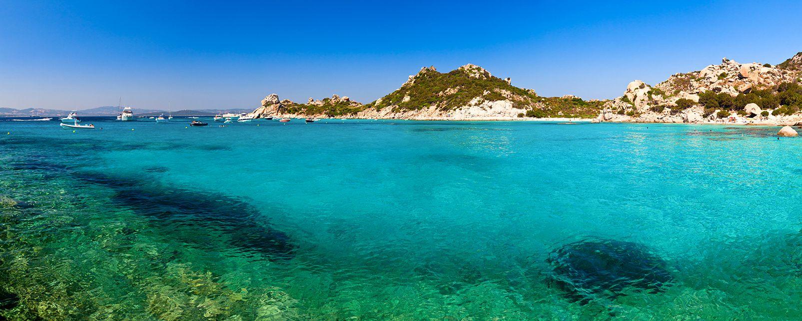 L'archipel de la Maddalena , Efecto laguna en La Maddalena , Italia