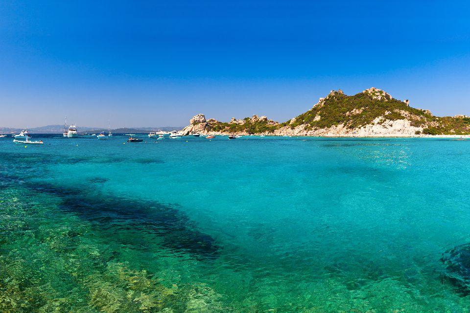 L'archipel de la Maddalena , Effet lagon à la Maddalena , Italie