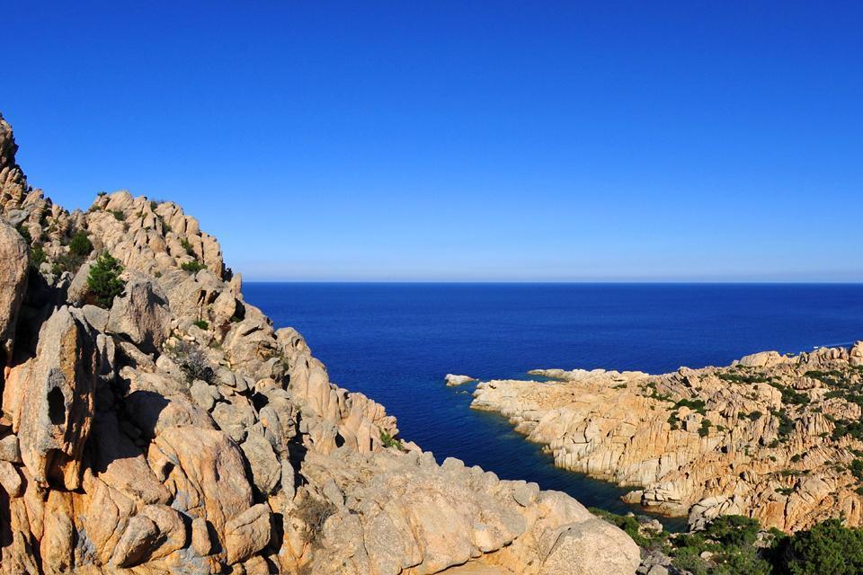 L'archipel de la Maddalena , Le fort de Guardia Vecchia , Italie