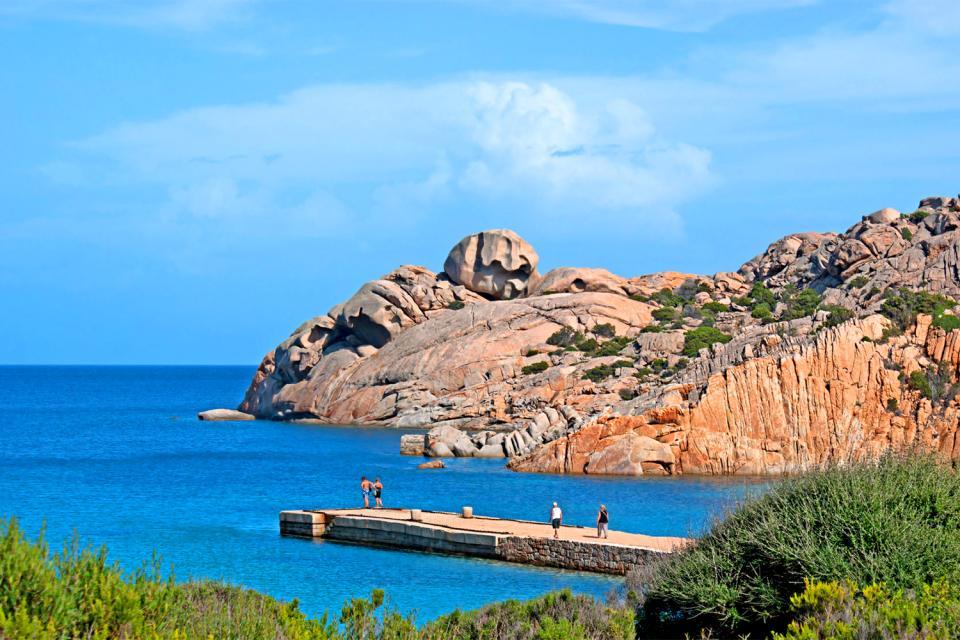 L'archipel de la Maddalena , L'île de Maddalena , Italie