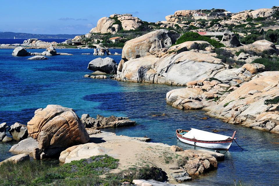 L'archipel de la Maddalena , Balade à Caprera , Italie