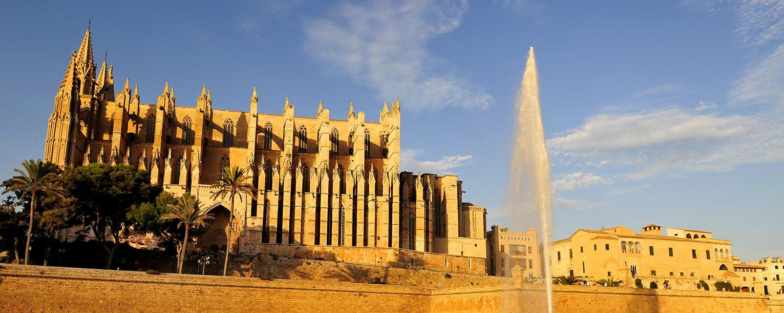 La cathédrale de Palma , Espagne