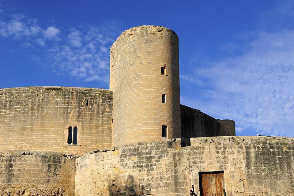 Le castell de Bellver , Spagna