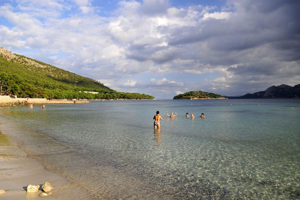Majorque , le cap de Formentor , La cala del Pi au Cap Formentor , Espagne