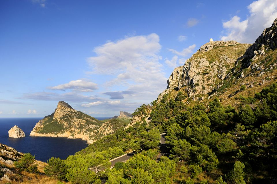 Mallorca: Cape Formentor , The scenery looks like something out of 'Lord , Spain
