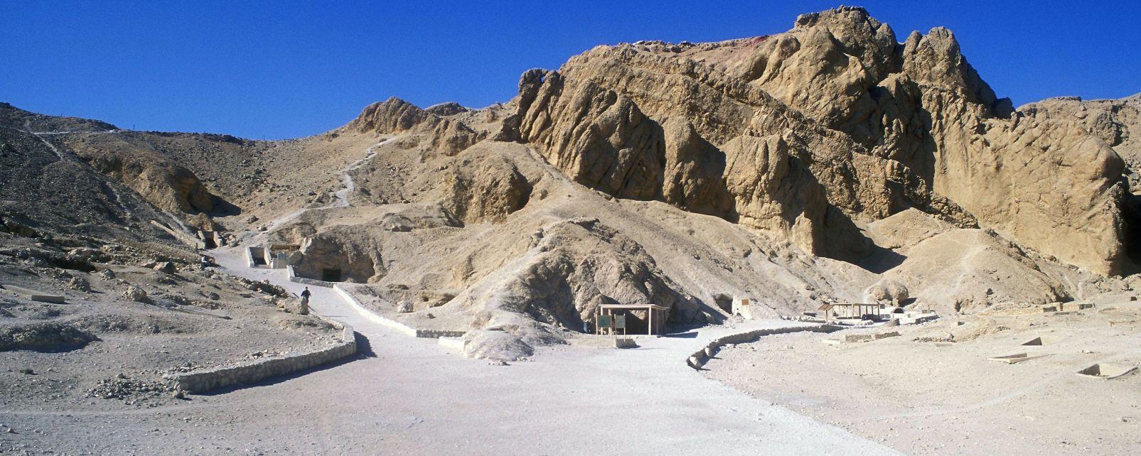 La Valle delle Regine, La valle delle Regine, I siti, Egitto
