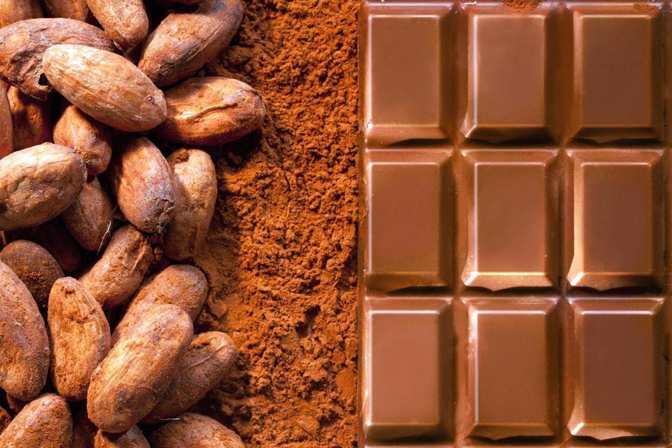 Le cacao , São Tomé and Príncipe