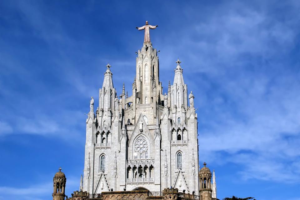 L'église de Tibidabo , Espagne