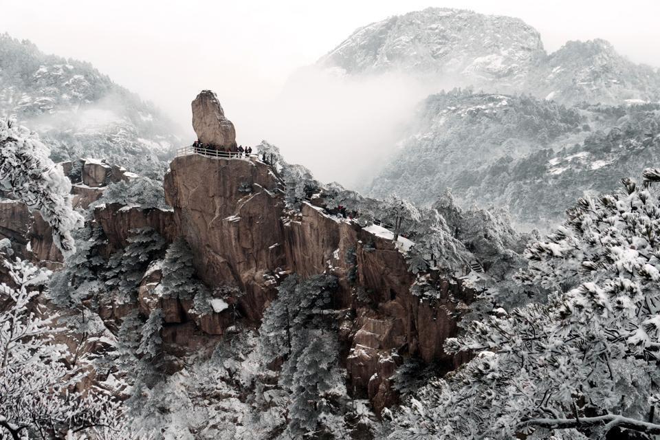 Huangshan , La Montagna Gialla , Chine