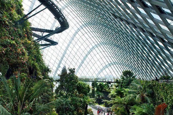 Le parc Gardens by the Bay , Singapore Flyer , Singapour