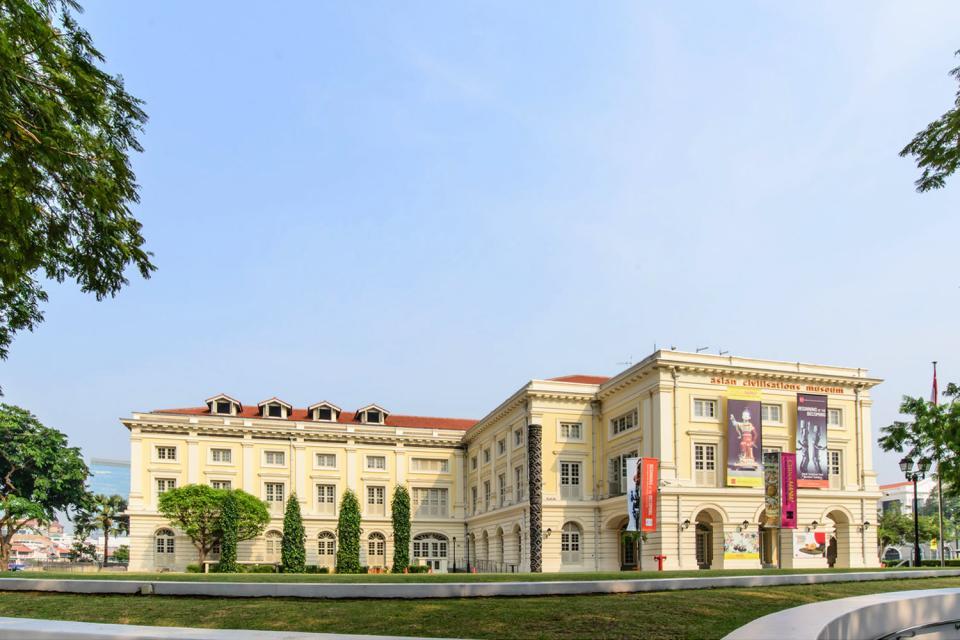 Le musée des Civilisations asiatiques , Singapur