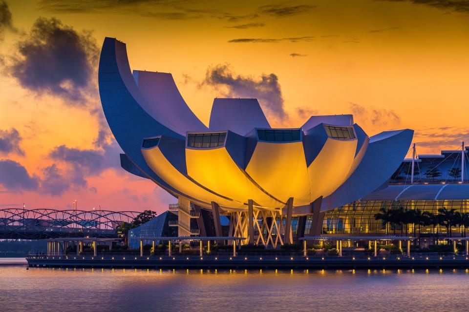 Le ArtScience Museum , Singapur