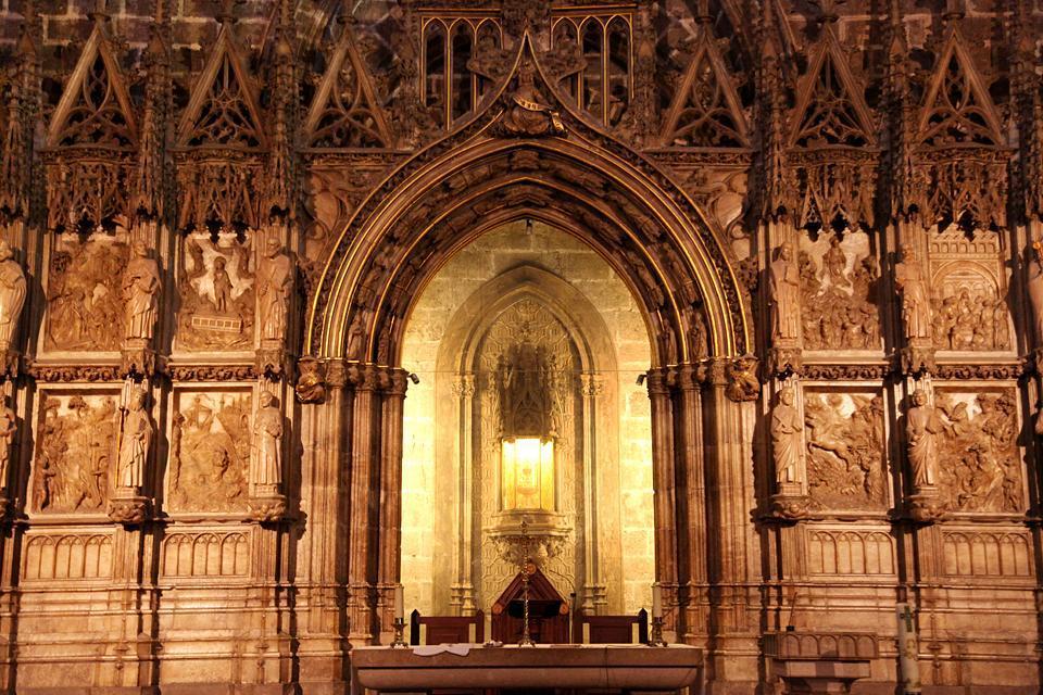 La cathédrale de Valence , España