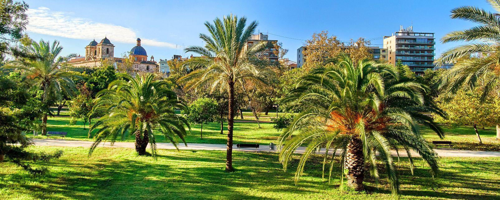 Les jardins de la turia gemeinschaft valencia spanien - Jardin del turia valencia ...