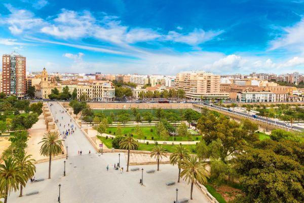 Die grüne Lunge von Valencia., Les jardins de la Turia, Die Fauna und Flora, Gemeinschaft Valencia