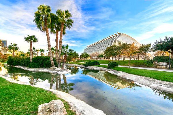 Les jardins de la Turia, Die Fauna und Flora, Gemeinschaft Valencia